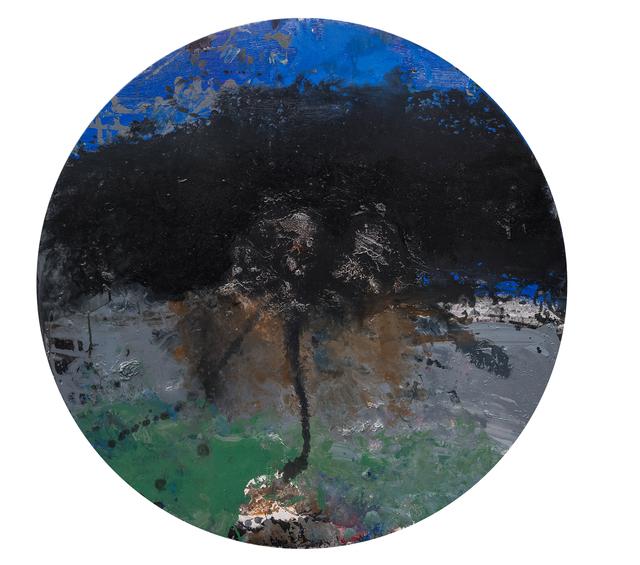 , 'Tondo Paysage,' 2016, La Patinoire Royale / Galerie Valerie Bach