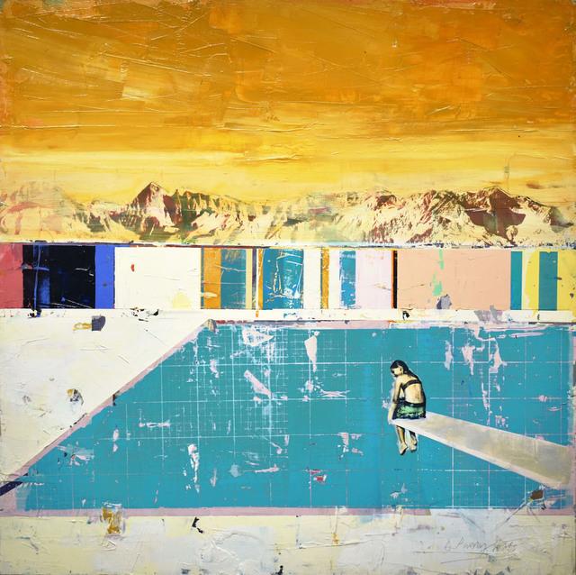 Dan Parry Jones, 'On the Diving Board', 2019, Adam Gallery