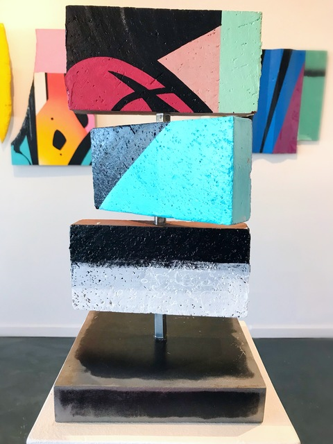 , 'Being,' 2018, {9} The Gallery