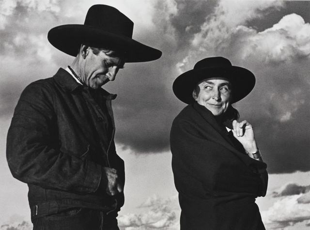 , 'Georgia O'Keeffe and Orville Cox, Canyon de Chelly National Monument, Arizona,' 1937, Robert Mann Gallery