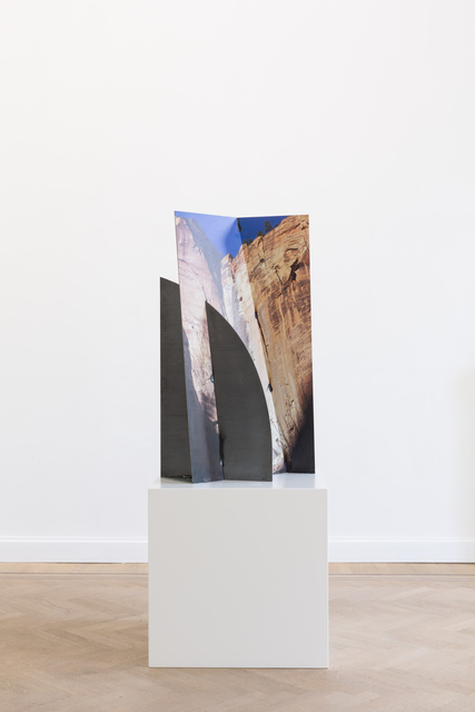 , 'Zion Canyon Palms Slice Steel,' 2019, GRIMM