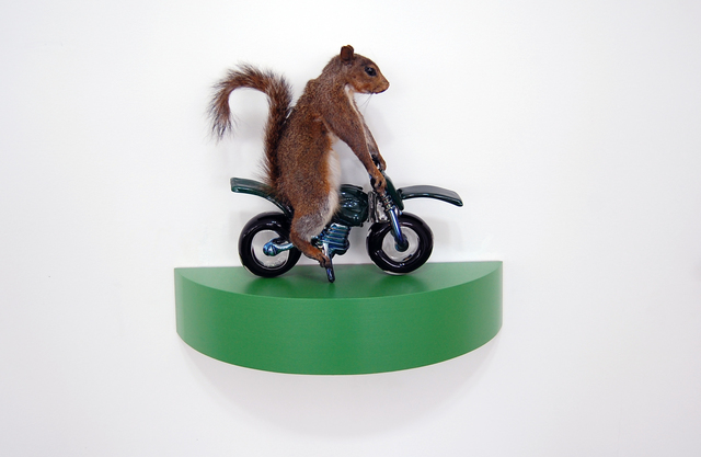 , 'The Squirrels - green,' 2018, Exhibit A
