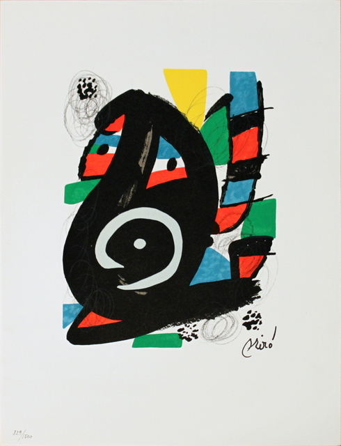 Joan Miró, 'Untitled from La Melodie Acide XVIII', 1980, ArtWise