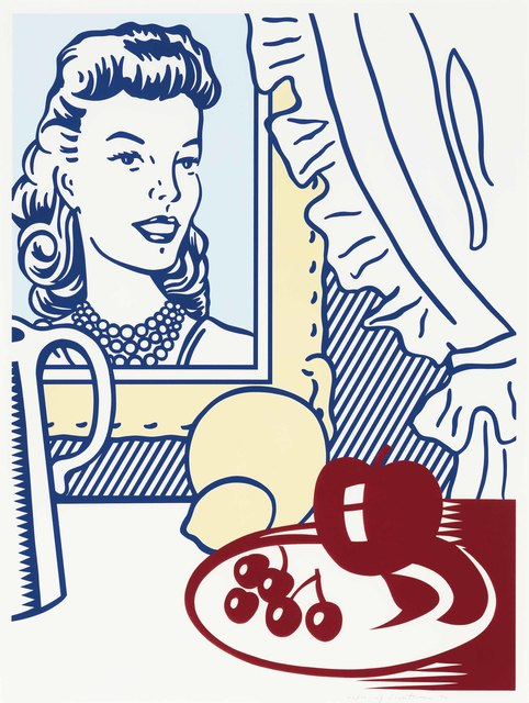 Roy Lichtenstein, 'Still Life with Portrait', 1974, Print, Screenprint and lithograph in colors with embossing, on Rives BFK paper, Christie's
