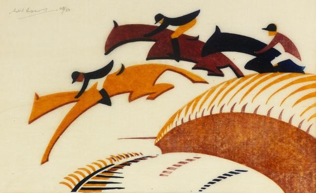 , 'Steeplechasing,' 1930, Osborne Samuel