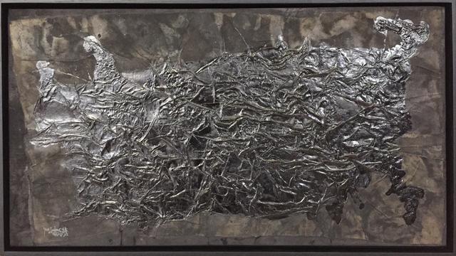 Yang Jiechang 杨诘苍, 'Hundred Layers of Ink - Horizontal Square', 1991, SETAREH
