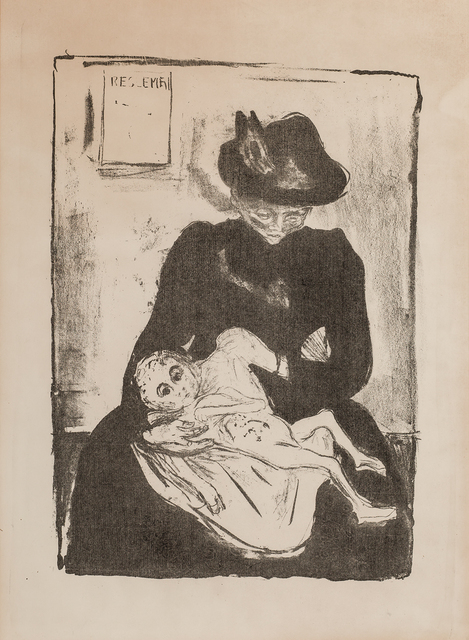Edvard Munch, 'Arv (Inheritance)', 1916, Modernism Inc.