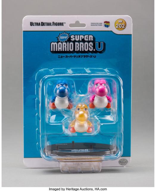 Nintendo, 'Awa Chibi Yoshi, from Super Mario Bros. U (UDF 202)', 2013, Other, Painted cast vinyl, Heritage Auctions