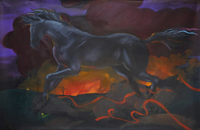 , 'Pale Horse,' 2017, 315 Gallery
