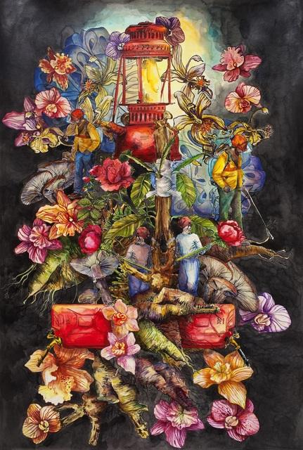 , 'Graft me a flower,' 2017, Galerie D'Este