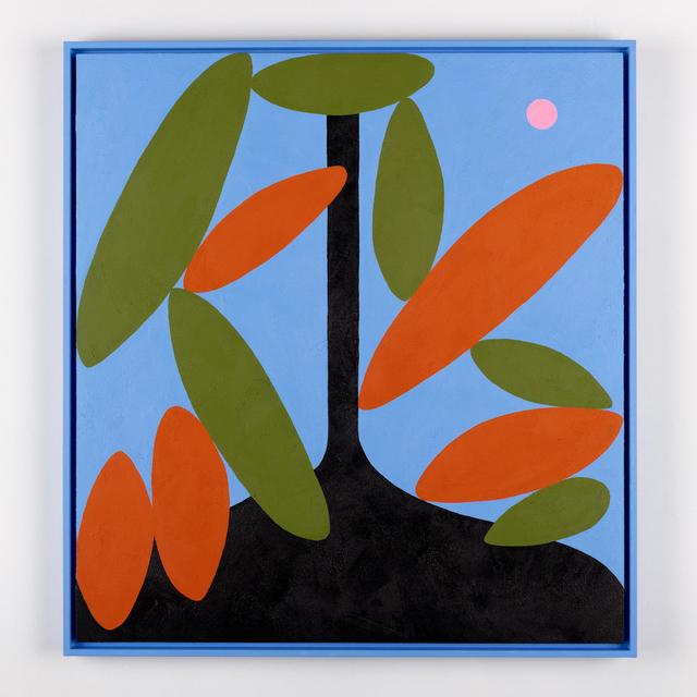 , 'A Vase Of Tropical Papayas,' 2019, SAINT CLOCHE