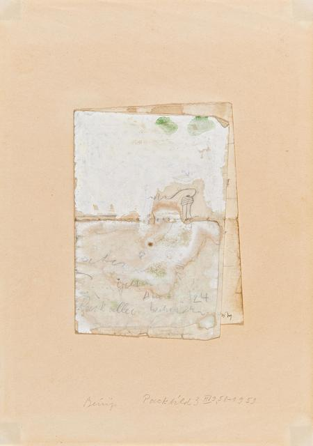 Joseph Beuys, 'Packbild 3 II', 1958/59, Van Ham