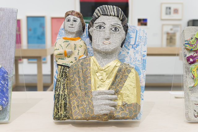 Michael Rakowitz, 'May The Obdurate Foe Not Be In Good Health: Young man with smaller figure', 2017, Rhona Hoffman Gallery