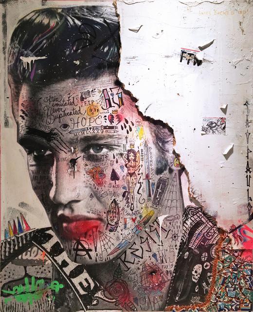 , 'Le King (Elvis Presley),' 2018, NextStreet Gallery