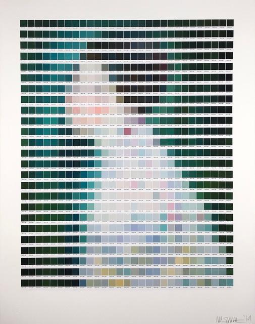 Nick Smith, 'Klimt - Portrait of a Woman', 2019, Rhodes