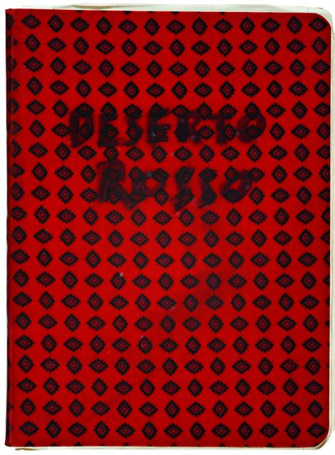 , 'Workbook Il deserto rosso,' 1966, EYE Film Institute Netherlands