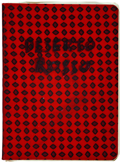 Michelangelo Antonioni, 'Workbook Il deserto rosso', 1966, EYE Filmmuseum Amsterdam