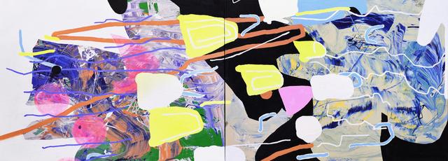 , 'Fizz (diptych),' 2018, Studio 21 Fine Art
