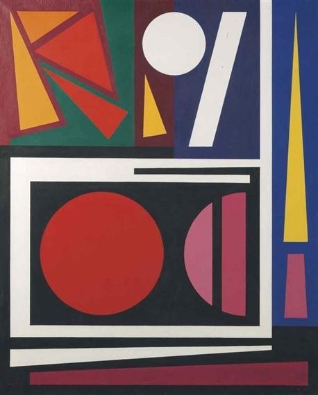 , 'Nid,' 1955, Galeria Freites
