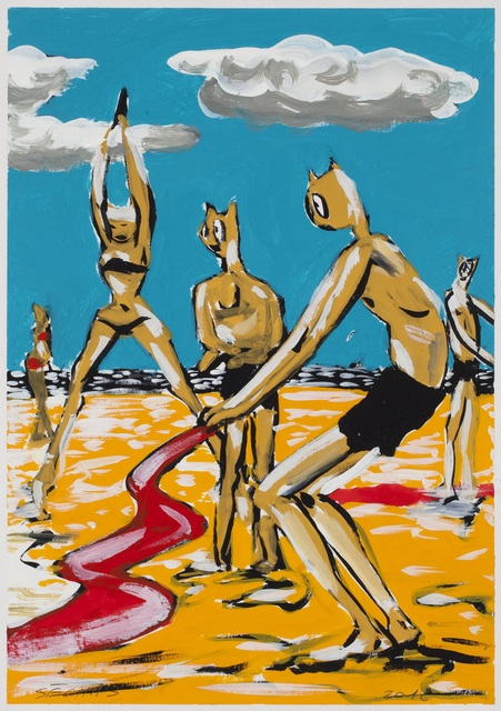 ", '""Mini Pouldu"" 1,' 2016, Galerie Laurent Godin"