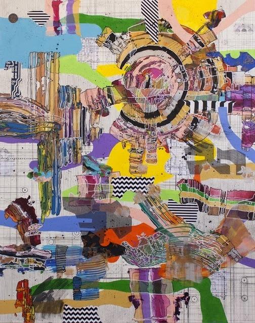 Yuni Lee, 'Amalgamation', 2017, Painting, Mixed media on canvas, Ro2 Art