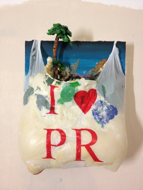 , 'Untitled (I Love PR),' 2013, Trailer Park Proyects