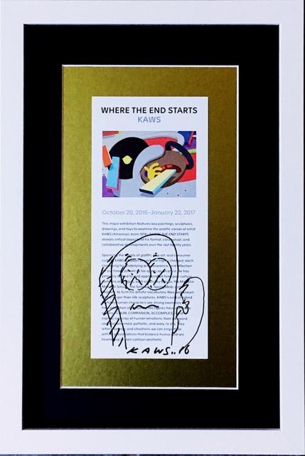 KAWS, 'Original drawing (museum provenance)', 2016, Alpha 137 Gallery