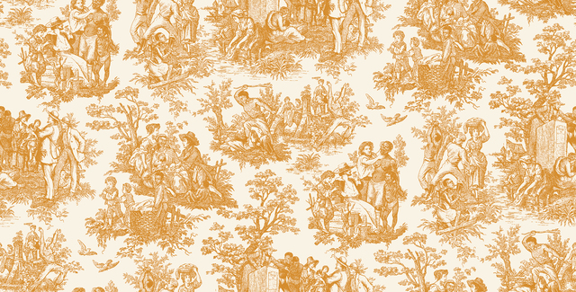 , 'French Toile...Negro Toil (wallpaper),' 2015, The Southern