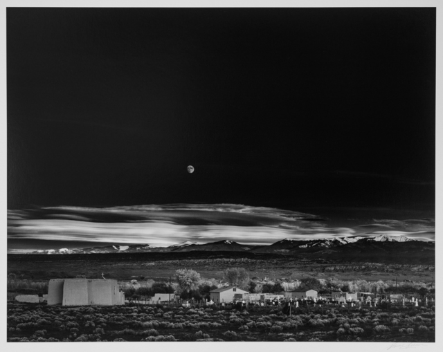 , 'Moonrise, Hernandez, New Mexico,' ca. 1941, Photography West Gallery