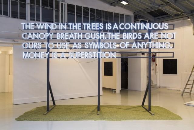 Robert Montgomery, 'POEM FOR FABIO PALEARI', 2015, Mannerheim Gallery