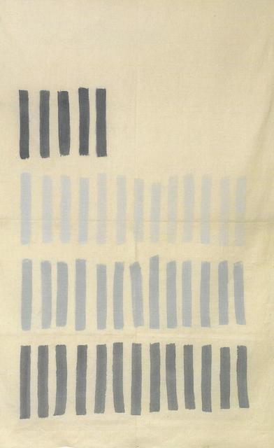 , 'Grigio Verticale ,' 1969, Galleria Spazia