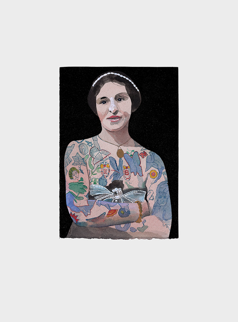 , 'Tattoo People (Emily),' 2016, bo.lee gallery