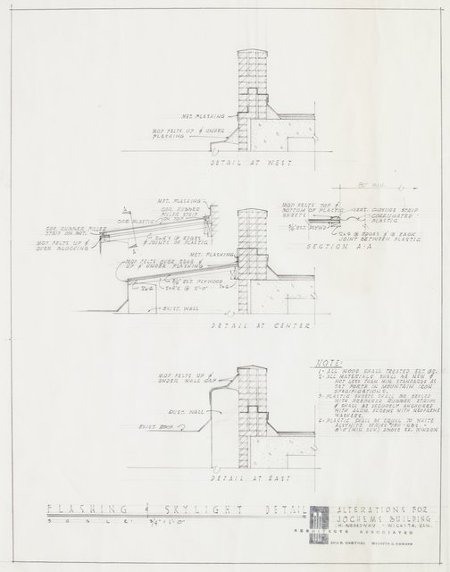 John M. Hickman, 'Drawings of the Mountain Iron and Supply Co., Wichita, Kansas (twenty-nine works)', 1958, Drawing, Collage or other Work on Paper, Graphite on tracing paper, Heritage Auctions