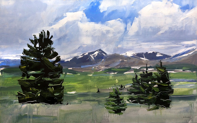 , 'Mt. Evans and Bierstadt Colorado,' 2017, Abend Gallery