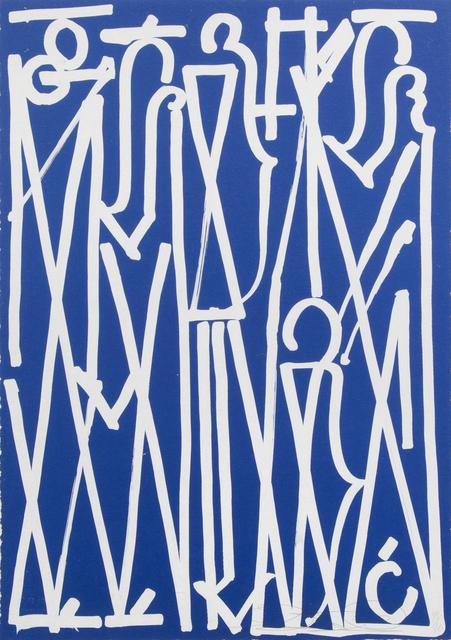 RETNA, 'El Salvador', 2014, Julien's Auctions