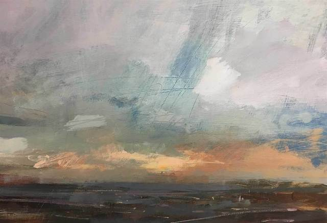 , 'Summer Evening over the Downs,' , Mall Galleries