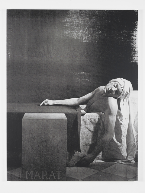 , 'Á Marat (Black & White),' 2017, Galerie Krinzinger
