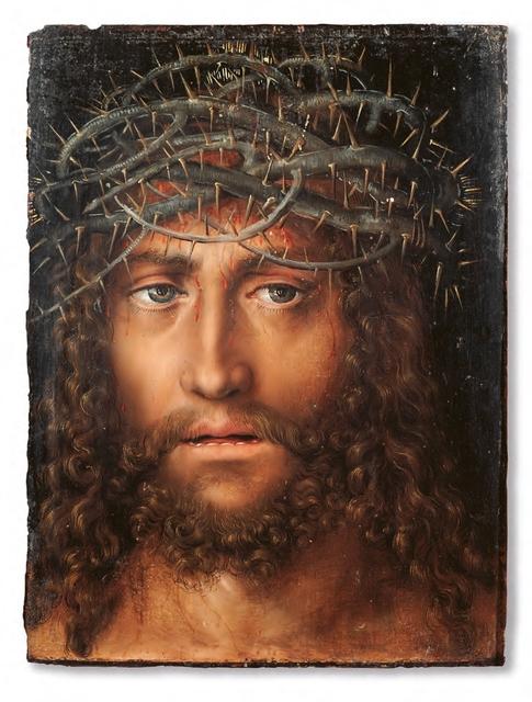 , 'Kopf des dornengekrönten Christus,' 1520-1525, Kunstmuseum Basel