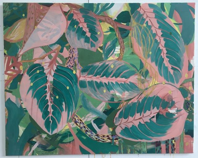 , 'Plants whose name I cannot remember,' 2016, Kamakura