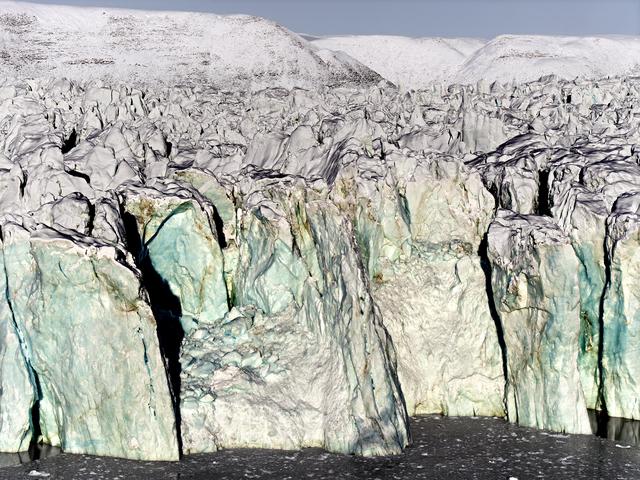 , 'Glacier Face,' 2016, Hans Alf Gallery