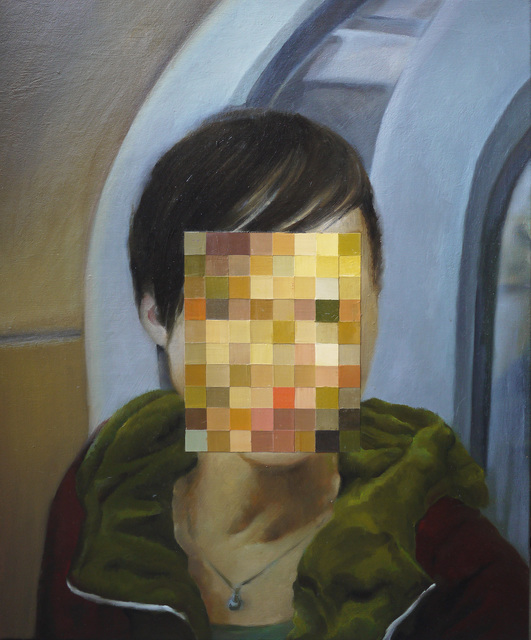 , 'Puzzle Face,' 2018, Powen Gallery