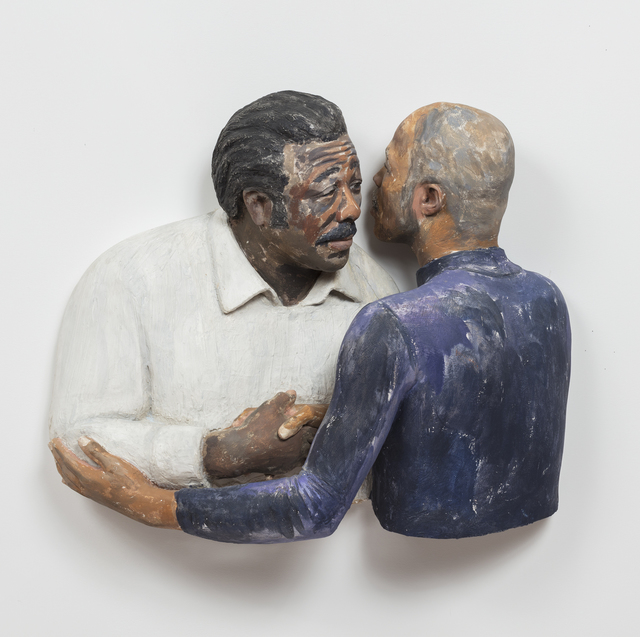 , 'Michael Weathers greeting his Father  ,' 1993, Alexander and Bonin