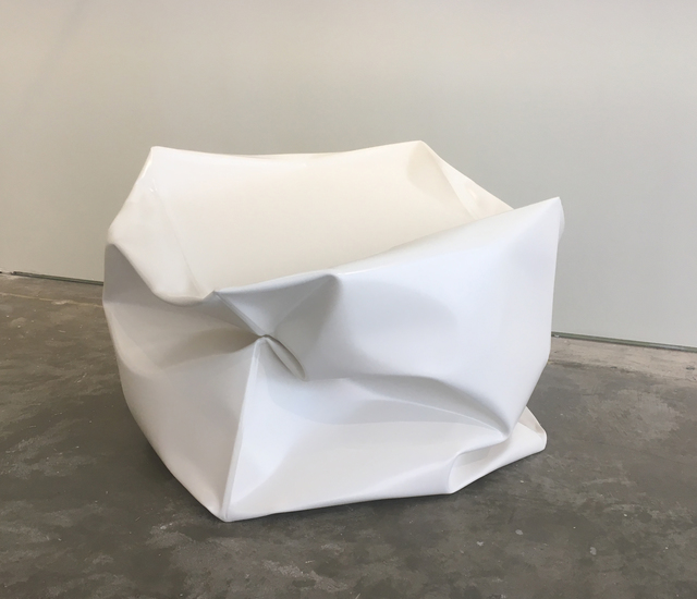 , 'Crushed Cube (White),' 2018, Carolina Nitsch Contemporary Art