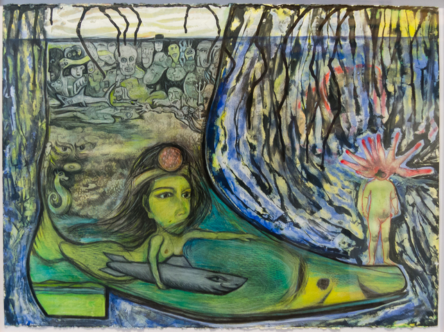 , 'The Cowboy Boot Series: Mermaid and Mutant,' 2014, Clark Gallery
