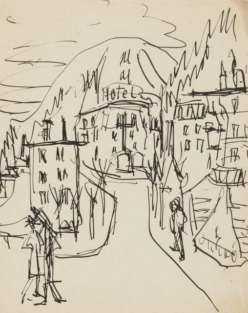 , 'Hotel in Davos,' ca. 1923, Galerie St. Etienne