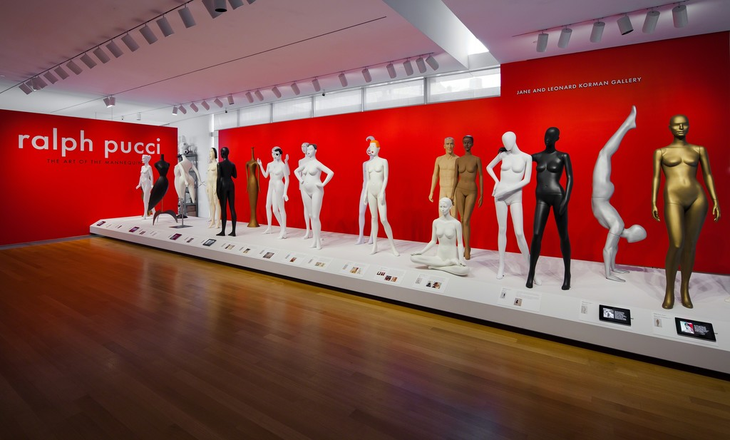 Installation photo of 'Ralph Pucci: The Art of the Mannequin' 2015. Photo by Butcher Walsh. Courtesy of the Museum of Arts and Design.