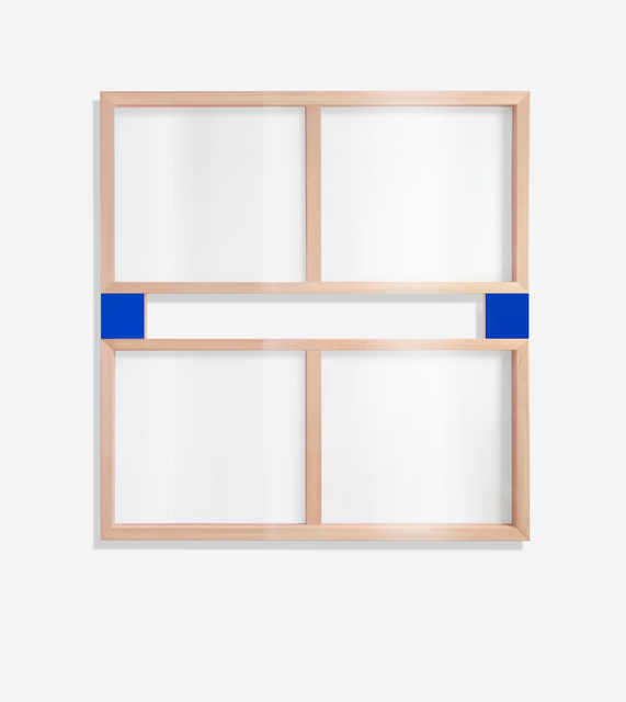 , 'Blue See-Through Painting (four panels),' 1992, SILAS VON MORISSE gallery