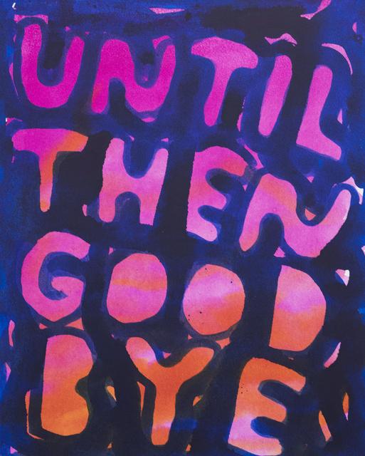 Stefan Marx, 'Until Then Goodbye', 2019, Painting, Ink on canvas, Ruttkowski;68
