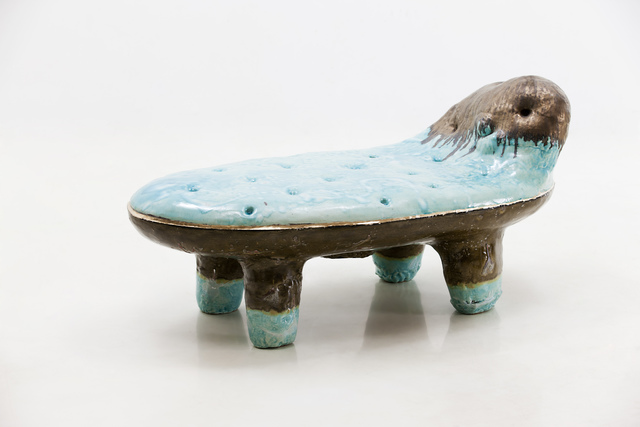 , 'Low Bench in Glazed Ceramic,' 2016, R & Company