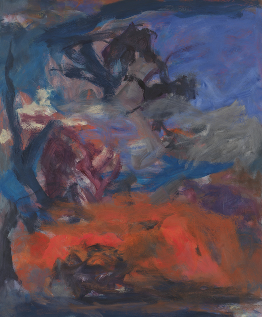 , 'Red Snow Cloud and Blue Sky,' 1962, Anita Shapolsky Gallery